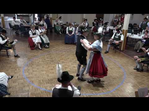 Roger Mowery & Kathy Bruni - 4th West Bezirksfest Einzelpreisplattln – Huntington Beach - 2017