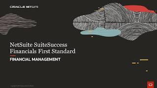 NetSuite SuiteSuccess Financials First Standard: Financials
