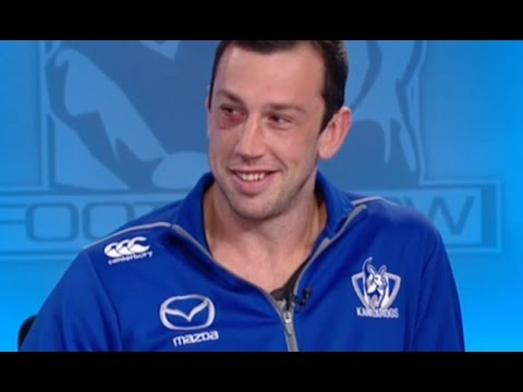 June 21, 2015 - Todd Goldstein on The Sunday Footy Show (Channel 9)