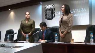 LXI LEGISLATURA AGS.MÉX. 1 INICIA FUNCIONES  DIPUTACIÓN PERMANENTE 07AGO2013