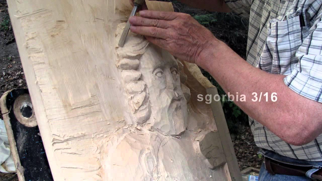 Bassorilievo in legno di tiglio - YouTube
