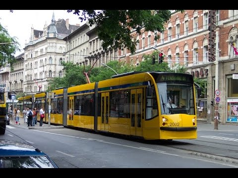 Budapest Hungary - Public transport of Budapest, Hungary, new