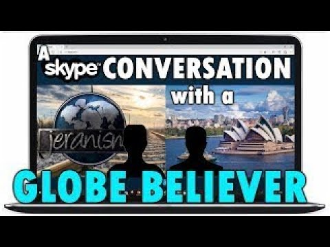 A Conversation With A Globe Believer on Science, Space, Evolution etc.