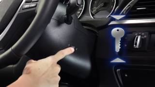 BMW 5 Series - Starting Vehicle when the Key Fob is Out of Battery