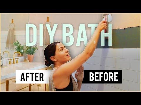 DIY Luxury Bathroom | MeganBatoon