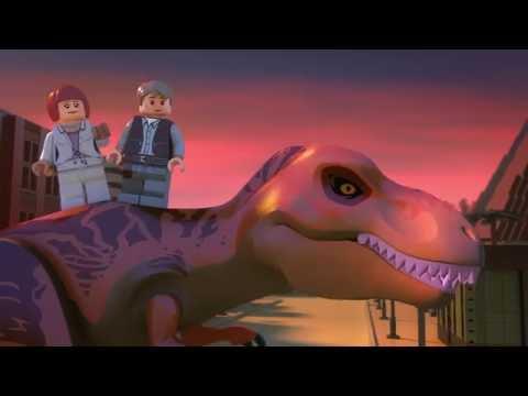 The Indominus Escape  LEGO Jurassic World Mini Movie  Part 5