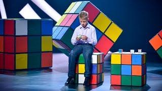 «Удивительные люди». Владимир Коровин. Чемпион по спидкубингу