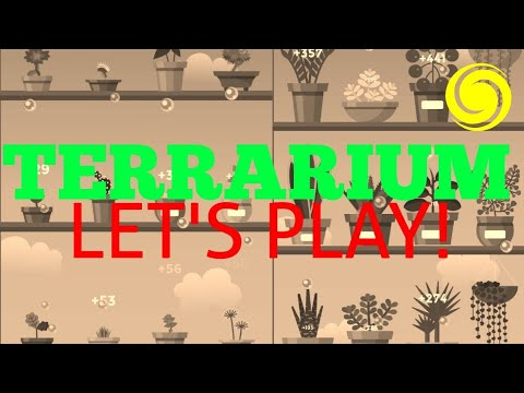 Terrarium Garden Idle Let S Play All Plants Planted Youtube