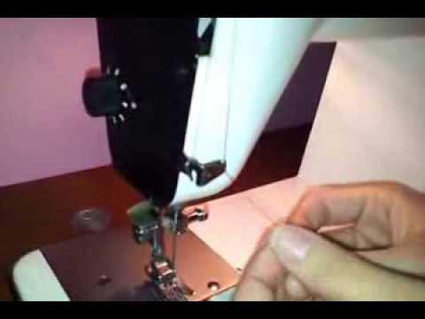 Enhebrar Máquina Coser Sigma 2000 Superautomática 1 3 Youtube