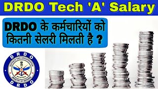 DRDO Salary For Tech