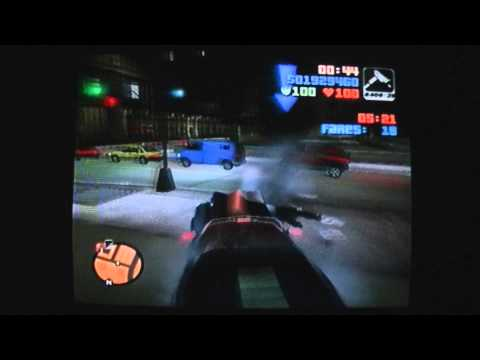 Let's 100% GTA3 (PS2) - 18 - Staunton Island Taxi Missions