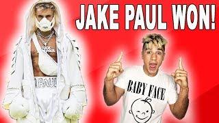 JAKE PAUL STOPS DEJI!!!