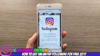 free instagram followers : Get upto 30k ig followers for free 2017 Updated