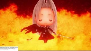 Chibi Sephiroth summon: WORLD OF FINAL FANTASY