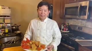"""Tôm hùm xào mì giòn -- """" Pan Fried Noodle With Lobster """""""