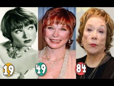 Shirley MacLaine ♕ Transformation From A Child To 84 Years OLD
