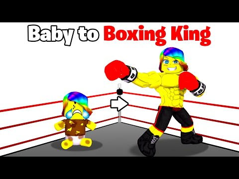 BABY Tofuu to BOXING King.. 🥊👑 (Roblox)