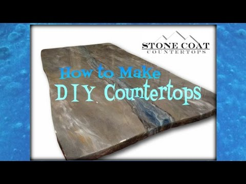 How to Make DIY Counter tops