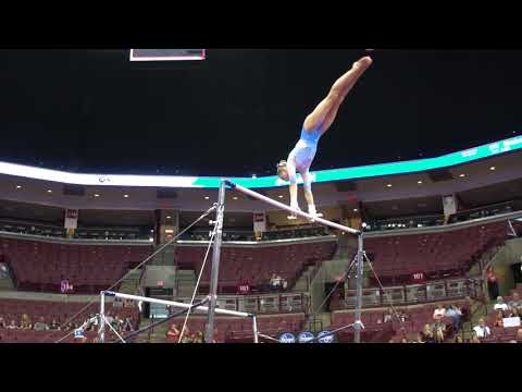 Delaney Fisher - Uneven Bars - 2018 GK U.S. Classic - Junior Competition