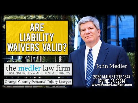 Are Liability Waivers Valid?
