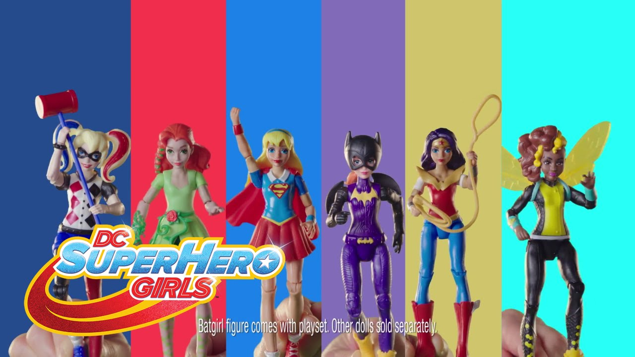 Dc Super Hero Girls Super Hero High School Playset Youtube