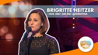 Brigitte Heitzer - Huil niet om mij Argentina (Evita de Musical) | TIJD VOOR MAX