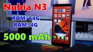 Nubia N3 - ЯДЕРНА альтернатива Xiaomi Redmi Note 5, АЛЕ...