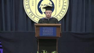 Mark Lerner Commencement Address - GW School of Business