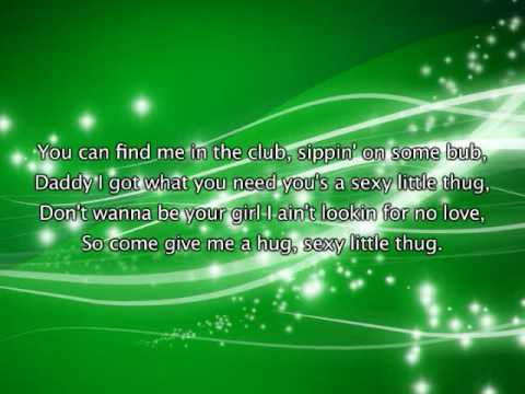 Beyonce - Sexy Lil' Thug, Lyrics In Video