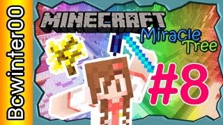 [Minecraft] Miracle Tree ต้นไม้มหัศจรรย์ #8 END : All achievement get!! + Where is my TREASURE??!!