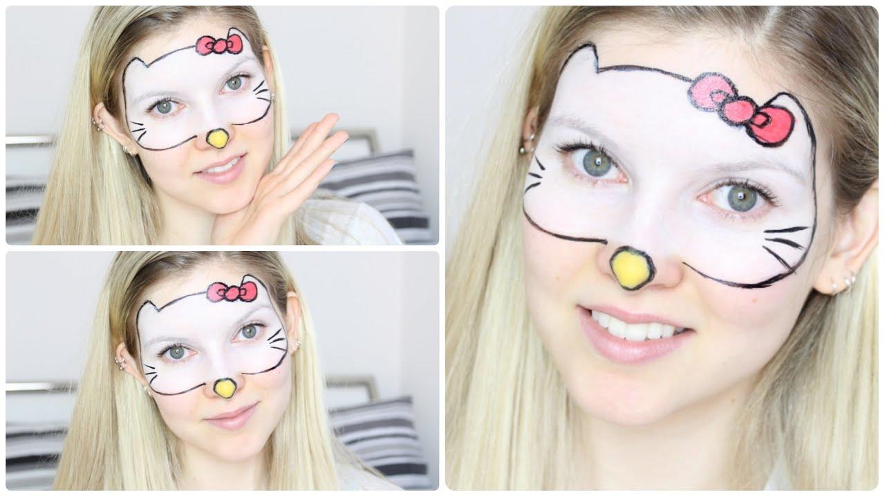 Hello kitty make up tutorial youtube solutioingenieria Images