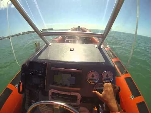 Fast Response marine Key West top speed challenge on board view