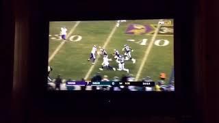 Patrick Robinson INSANE Pick Six!!!!!! | Eagles Vs Vikings | NFL