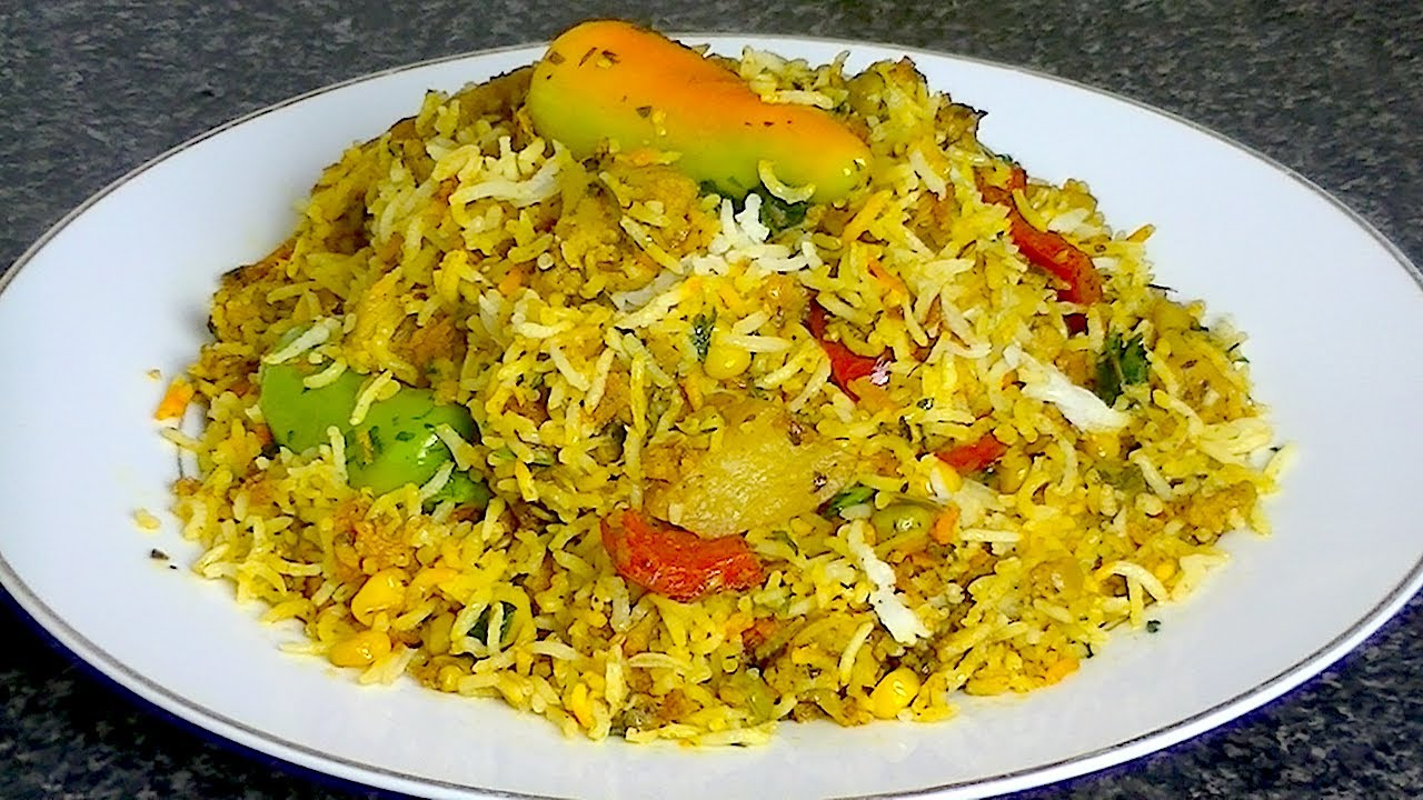 Veg Biryani Cook With Faiza Youtube