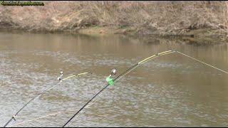 Рыбалка ранней весной 2020 на канале