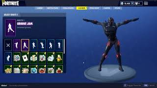 Fortnite - Groove Jam Dance and FreeStylin!!