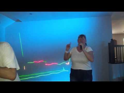 Mad dog karaoke singing  NELLIE THE ELEPHANT