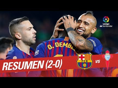 Resumen de FC Barcelona vs RC Celta (2-0)