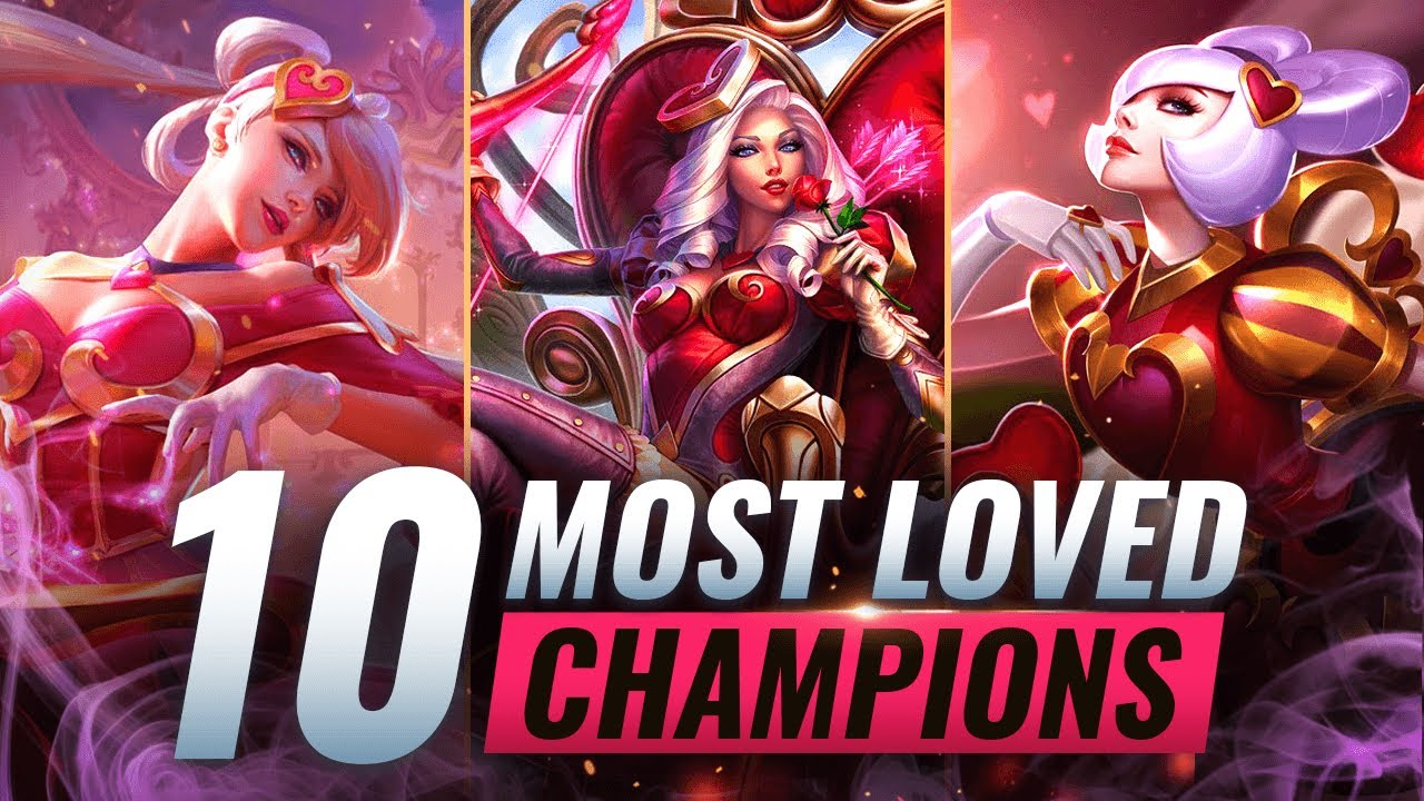 10 MOST LOVED Champs EVERYONE WANTS On Their Team - League of Legends thumbnail