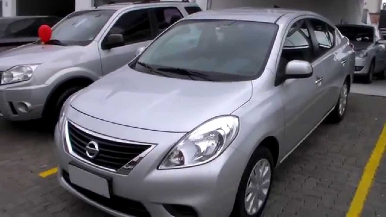 nissan versa sv 1 6 16v flex 2013 youtube. Black Bedroom Furniture Sets. Home Design Ideas