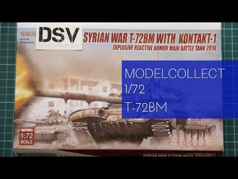 Modelcollect 1/72 T-72BM with Kontakt-1...