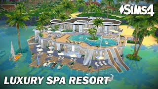 Luxury Spa Resort | No CC | Artworks | Stop Motion | Sims 4