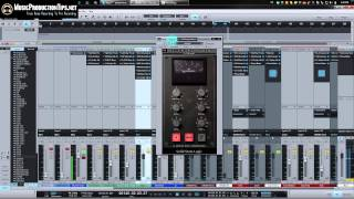 SSL Bus Compressor - Using Mix Bus Compression