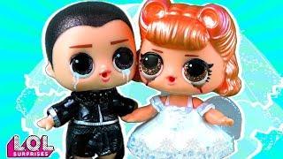 Жених и Невеста в шоке! Их разлучили в школе! Мультик куклы лол сюрприз LOL dolls