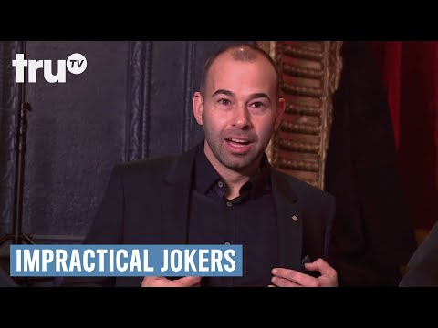Impractical Jokers - Why Am I Dracula? (Punishment) | truTV