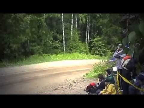 Collection of rally car crashes in Finland