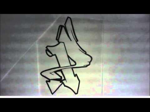 Graffiti Alphabet N4 Lettres semi complexes semi wild ...