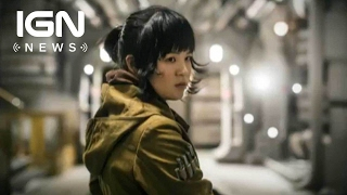 Star Wars: 'Rose' is the Biggest New Part' of The Last Jedi - IGN News