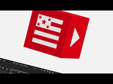 47. After Effects: INTRO da CNN ★ American Flag e Play (p.02)