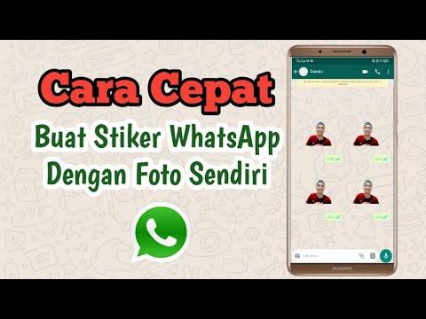 Cara Membuat Stiker Whatsapp Dengan Foto Sendiri Terbaru